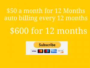 Payment Page Ad for 12 months